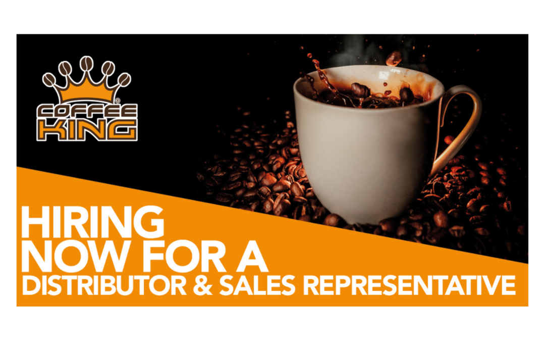 Hiring now for a distributor and sales representative